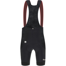 Santini Mont Ventoux Design Bibshorts Men, black